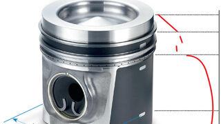 Solución para la deformación plástica del pistón en la fase de rodaje