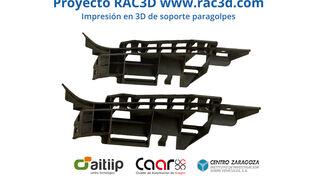 Así es RAC3D, un proyecto de innovación para impresión 3D aplicada a reparación de vehículos