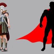 Romanos y Superhéroes