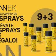 Sinnek regala tres aerosoles por cada nueve de su marca que se compren