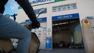 El mantenimiento de la moto, ahora también en Euromaster