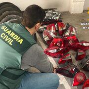 Detenido un clan familiar en Villarrobledo (Albacete) por robar piezas de desguace y venderlas por Internet