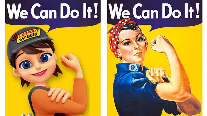 """Nica, el nuevo """"fichaje"""" femenino de Confortauto para el Día Internacional de la Mujer"""