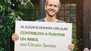 Citroën plantará un árbol por cada nueva pieza de cambio estándar que se use en reparaciones