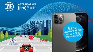 ZF [pro]Points propone a los talleres un juego online para ganar un iPhone 12 Pro
