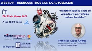 Cetraa analizará la transformación a gas de vehículos en otro webinar de Motormeetings