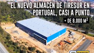 Tiresur tendrá operativo su nuevo centro logístico portugués en mayo