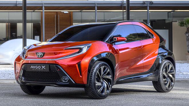 Prototipo de neumático de Goodyear para el Toyota Aygo X Prologue