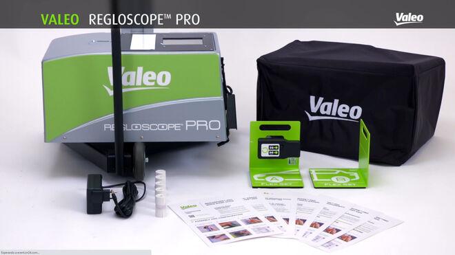 Formación online de Valeo sobre la herramienta de diagnosis de iluminación Regloscope PRO