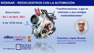 El webinar de Cetraa sobre transformación a gas de vehículos se traslada al 7 de abril