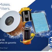 Filtros Blue Print: calidad y garantía