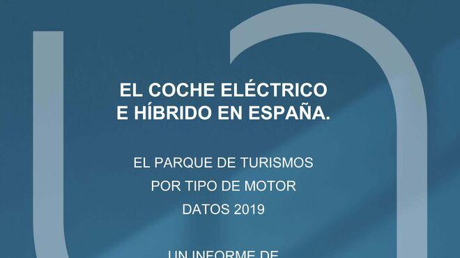 El 1,8% del parque de turismos español de 2019, 562.000 coches, eran híbridos o eléctricos