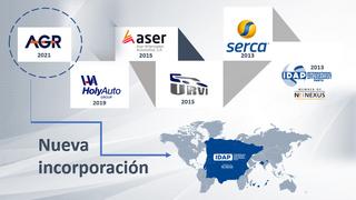 AGR, la sociedad formada por Andel y Grupauto, entra en IDAP
