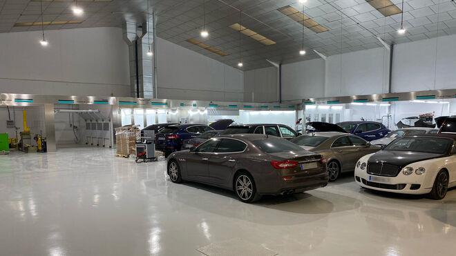 Tecnisport Madrid, nuevo taller de carrocería para marcas de lujo en Alcorcón