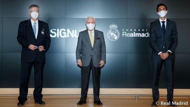 Signus renueva su acuerdo de colaboración con la Fundación Real Madrid