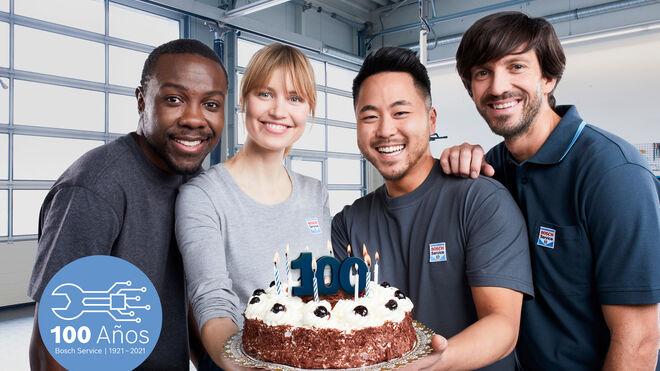 """Bosch Car Service celebra su centenario con la campaña """"Cumplimos 100 años"""""""