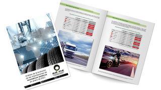 La importación de neumático asiático cayó el 7,8% en consumer y el 25% en camión en enero
