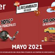 El 1 de mayo, vuelve El Recambiazo de ASER