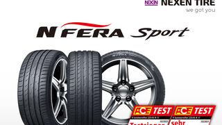 Nexen N'Fera Sport, mejor neumático de verano 2021 para la revista ACE Lenkrad