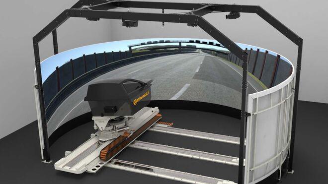 Los neumáticos Continental se probarán en un innovador simulador de conducción