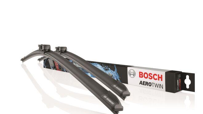 Bosch mejora su limpiaparabrisas Aerotwin con un nuevo compuesto de goma