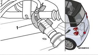 Solución a la rotura del cableado del sensor calentado de oxígeno en el Smart Fortwo