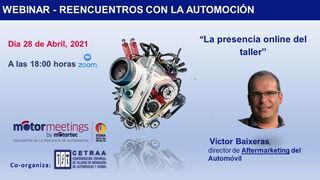 La presencia online del taller, eje del próximo webinar de Motormeetings by Motortec