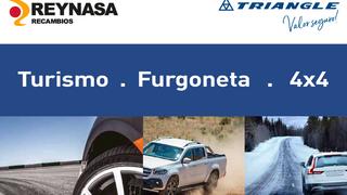 Reynasa distribuirá los neumáticos Triangle Tyre en Madrid y Guadalajara