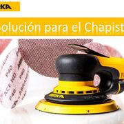 Solución para el chapista: Mirka®DEROS 680 y Abranet®Ace HD