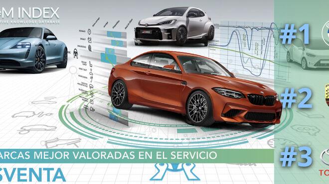 BMW, Porsche y Toyota, las marcas de automóviles con mejor servicio posventa