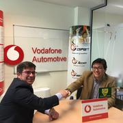 Dipart acuerda con Vodafone vender e instalar sus sistemas de seguridad y localización
