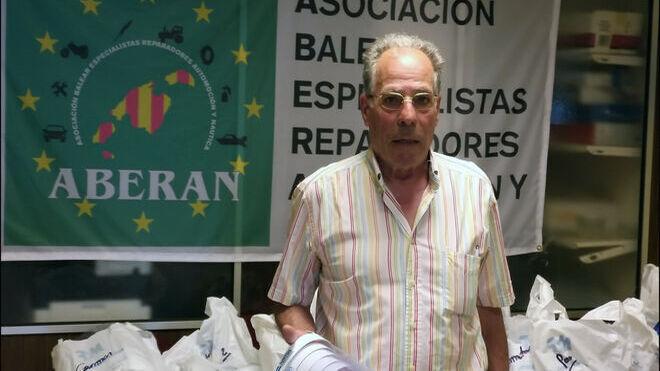 """Julio González (Aberan): """"El abandono de coches en el taller es un problema gordo"""""""