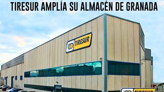 Tiresur amplía su almacén de Granada para alcanzar 650.000 neumáticos en stock