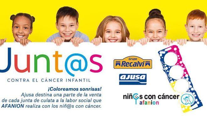 "Recalvi se suma a la campaña de Ajusa ""Junt@s contra el cáncer infantil"""