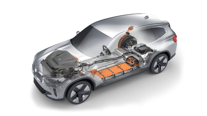Tenneco suministra la tecnología de suspensión inteligente Monroe al BMW iX3