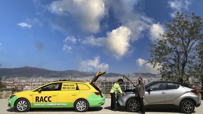 El RACC amplía su flota de asistencia sostenible con seis coches-taller de GNC
