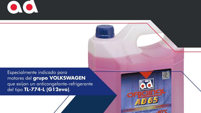 Nuevo anticongelante-refrigerante AD65 de AD Parts