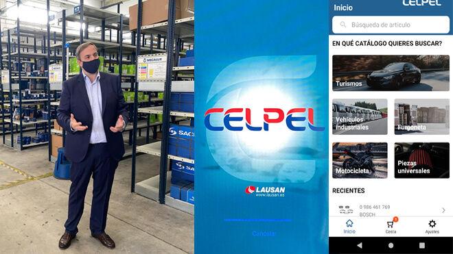 Lausan lanza su nueva App Celpel para móvil y tablet