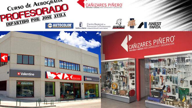 Nueva formación en aerografía de Cañizares Piñero a 29 profesores de FP de Castilla-La Mancha