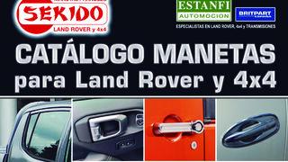 Estanfi edita un nuevo catálogo de manetas para Land Rover y 4x4