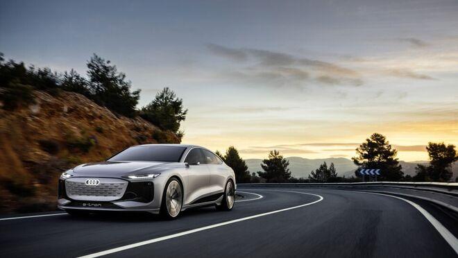 Heliosilver, la pintura del Audi A6 e-tron concept que hace innecesario el aire acondicionado