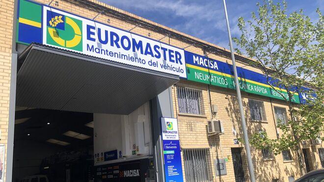 Euromaster alcanza los 400 talleres y aspira a duplicar sus franquiciados en 2025
