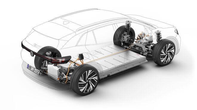 Tenneco equipa al Volkswagen ID.4 en origen con suspensión inteligente CVSa de Monroe