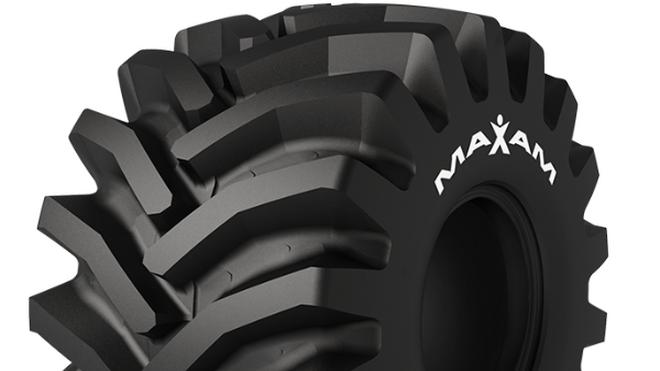 Maxam presenta dos nuevos tamaños de su neumático forestal MS933 Logxtra