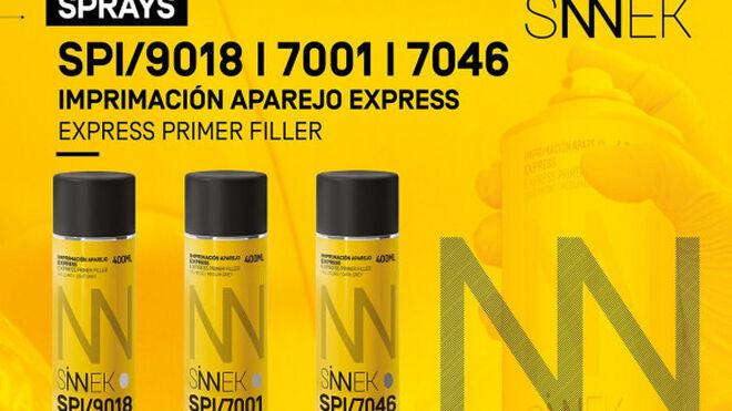 Sinnek lanza un nuevo spray de secado rápido que optimiza los tiempos de reparación