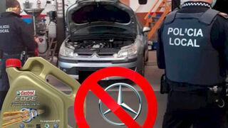 Doral informa del mal uso de un aceite formulado para Volkswagen en motores Mercedes