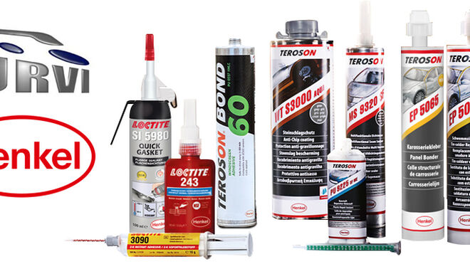 Urvi distribuirá las marcas Loctite y Teroson de Henkel
