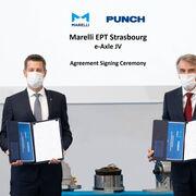 Joint-venture de Marelli y Punch para el suministro de ejes para vehículos eléctricos