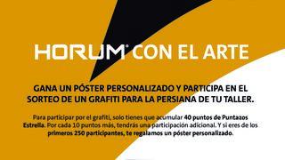 PRO Service sorteará cinco grafitis de Xolaka para las persianas de cierre de los talleres