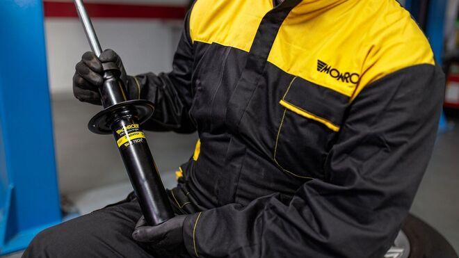 Amortiguadores y columnas de suspensión: diferencias, componentes y funcionamiento